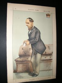 Vanity Fair Print 1869 Lord Kimberley, Ape Lithograph